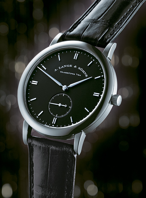 A Lange & Sohne Saxonia front