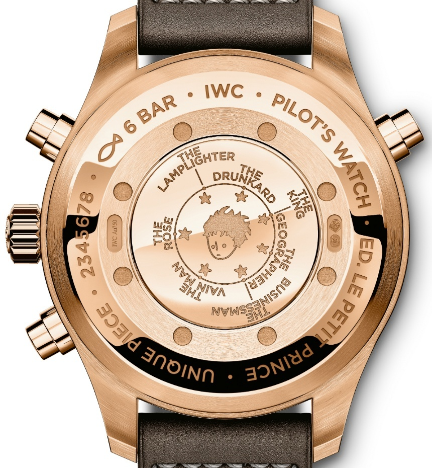 IWC-Red-Gold-Special-Edition-Pilots-Watch-Double-Chronograph-Edition-Le-Petit-Prince-2