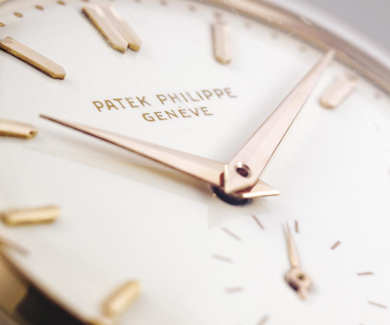Patek Philippe Rose Gold Reference 2526 With Enamel Dial