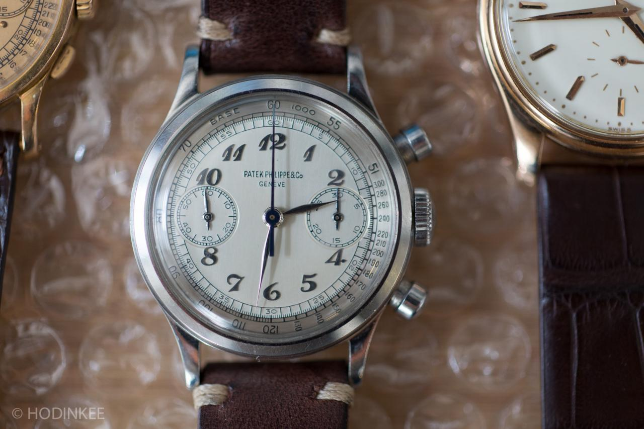 Patek Philippe Reference 1463 With Two-Tone Breguet Dial – Ebauche by Valjoux