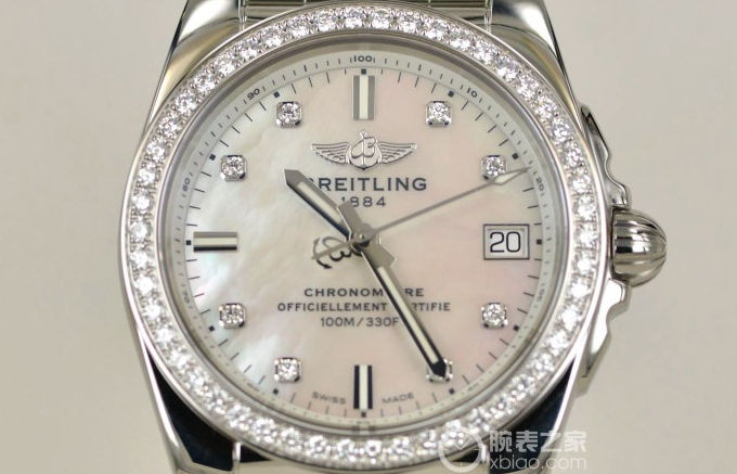 Tasting Breitling Galactic 36 Landis edition diamond watch (6)