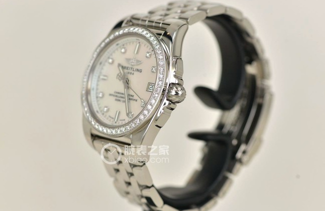 Tasting Breitling Galactic 36 Landis edition diamond watch (2)