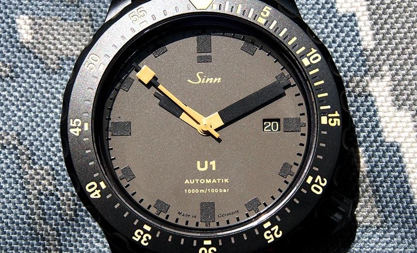 Sinn U1-D Dial Sunlight