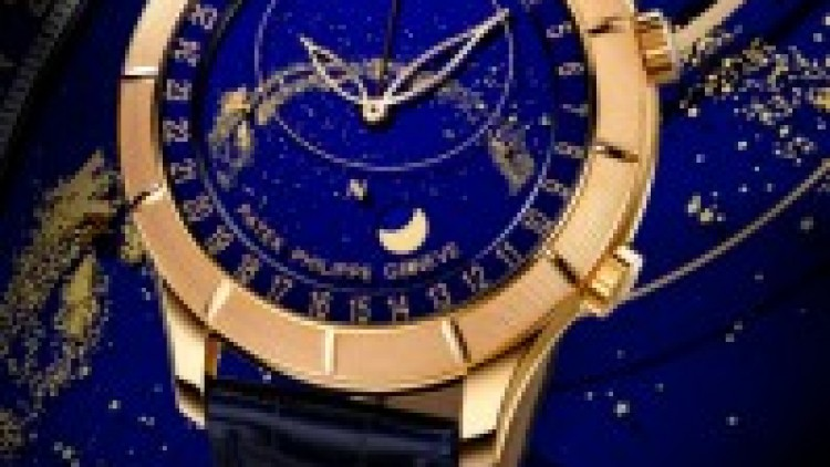 Unique Patek Philippe Sky Moon Celestial Watch Ref. 5106