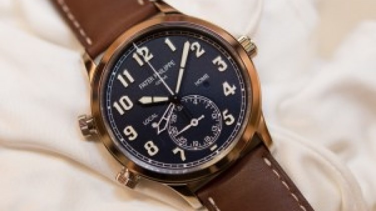 Three Watch Experts' Opinions On The Replica Patek Philippe 5524G Calatrava Pilots Travel Time