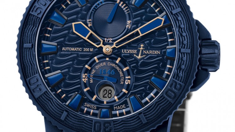 Introducing the Replica Ulysse Nardin Blue Ocean Rubber Watch