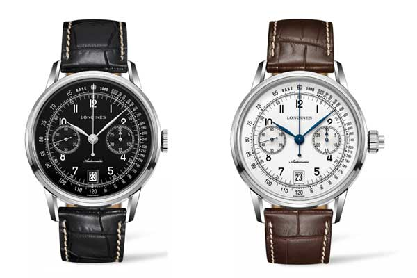 Replica Longines Watches – The Longines Column-Wheel Single Push-Piece Chronograph