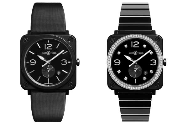 Replica Bell  Ross –  BR S Black Ceramic Watch