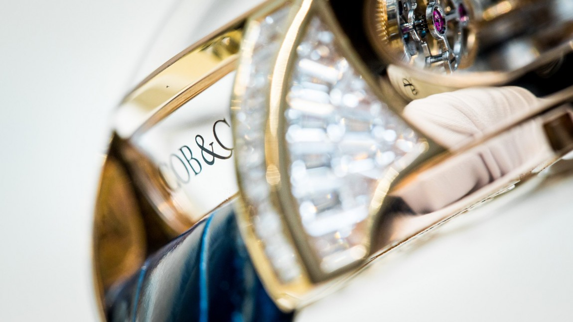 Hands On The Jacob  Co. Astronomia Tourbillon Baguette Replica Watches