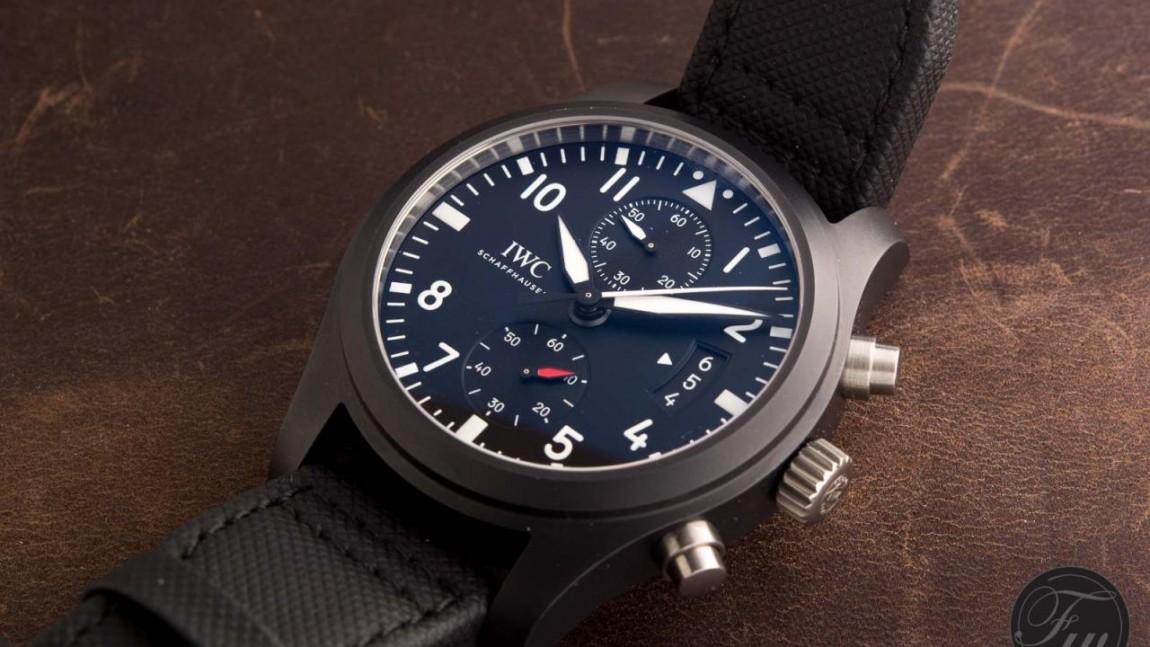 On Replica iwc pilot chronograph top gun watch Review Ref. 3777 iwc