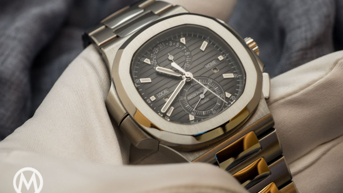Patek Philippe Nautilus Travel Time Chronograph Replica Watch