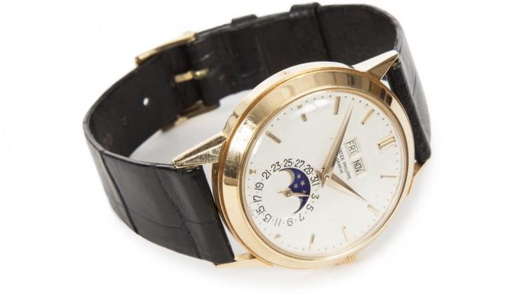 A Patek Philippe Perpetual Calendar Replica watch Ref.3448 Owned By Ringo Starr