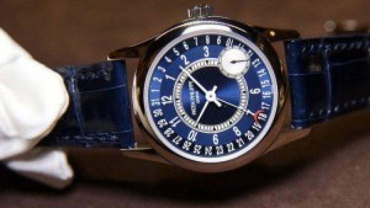 Patek Philippe Calatrava White Gold Blue Dial Replica Watches Ref.6000G-012