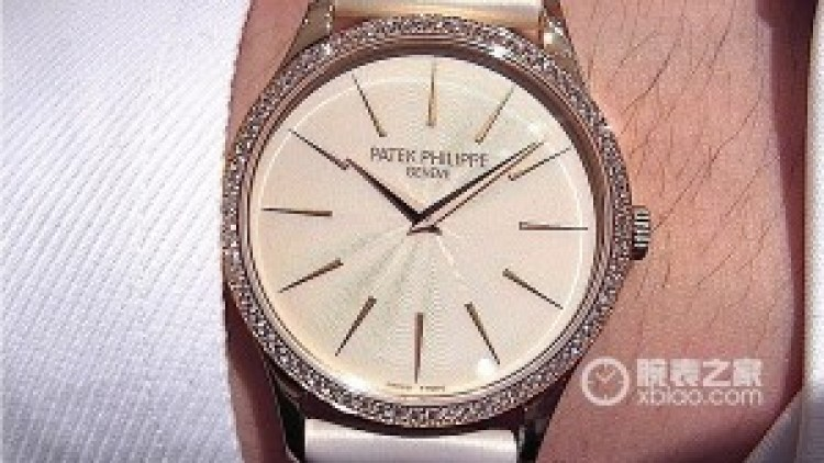 Four Patek Philippe Diamond Ladies watch Replica