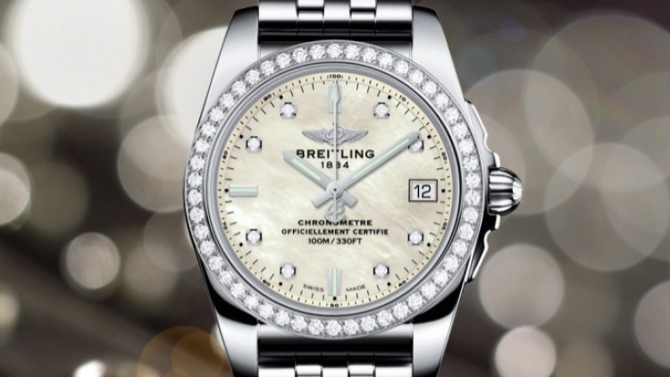 Tasting Breitling Galactic 36 Landis edition diamond watch