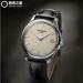 Replica Patek Philippe Calatrava Mechanical Ivory Dial Leather Men's Watch