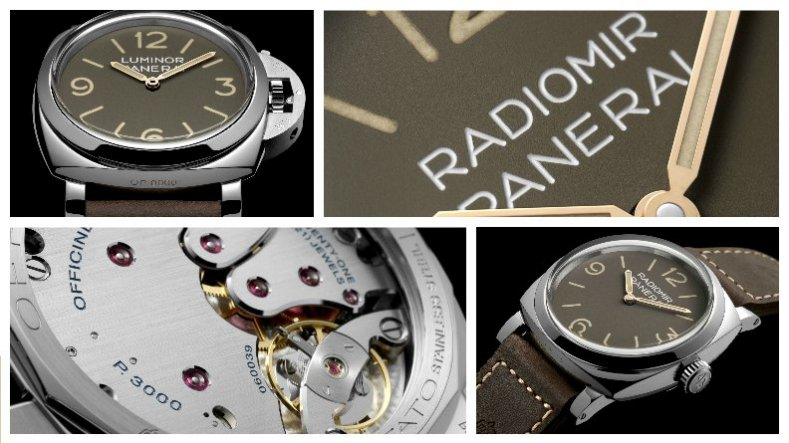 Replica Watches Panerai Radiomir 1940 3 Days 47mm steel watch