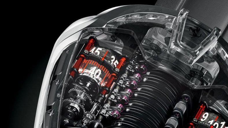 "Geneva Motor Show Hublot Replica MP-05 ""LaFerrari ""All Black Watch"