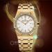 Audemars piguet lady royal oak 33mm yellow gold replica watches