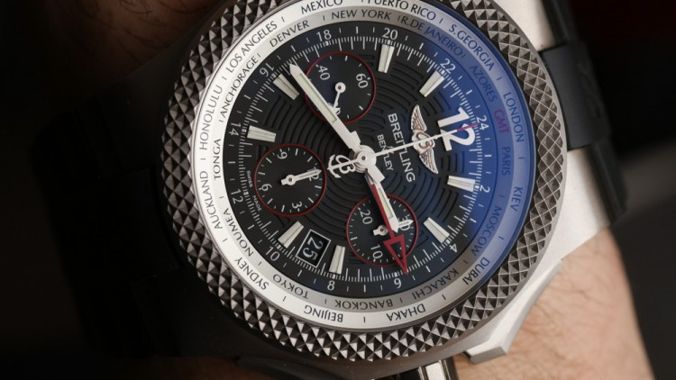 Breitling Replica Watches For Bentley GMT Ablaze Physique B04 S