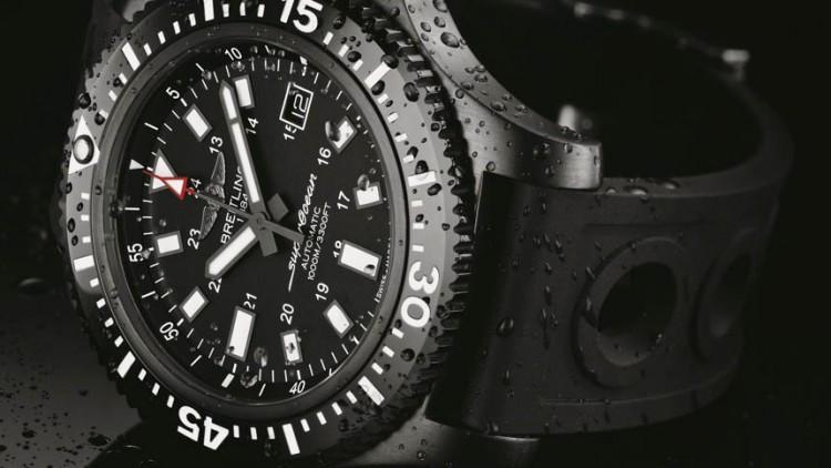Breitling Superocean 44 Special Blacksteel Replica Watch