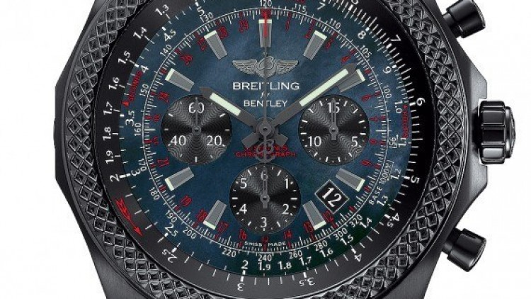 49mm Breitling Bentley B06 Midnight Carbon Chronograph Replica Watches