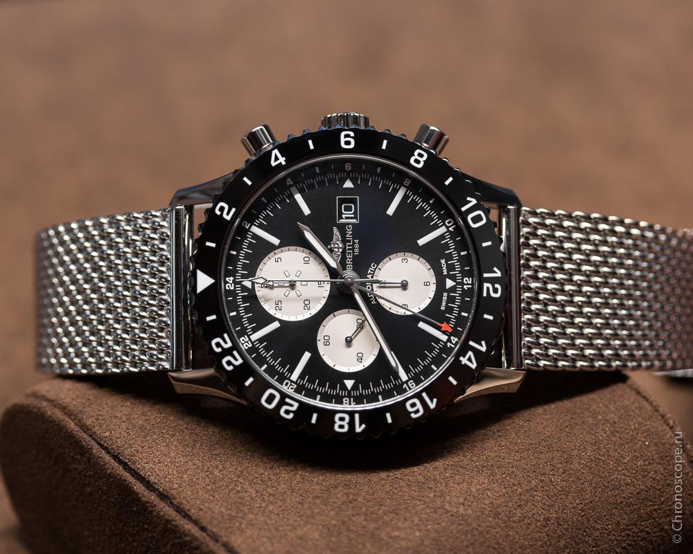 Authentic Flight Captain's Watch:  best breitling chrono liner flight captain chronograph replica watch