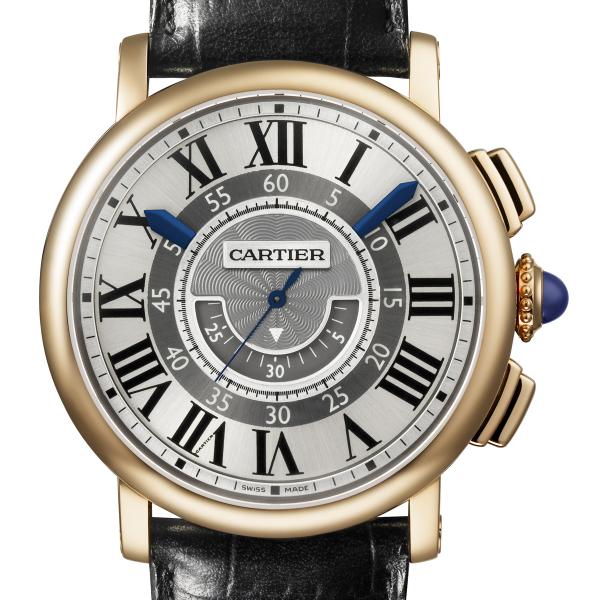 cartier rotonde de cartier central chronograph 42mm replica watch