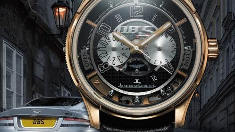 Rose Gold Jaeger-LeCoultre AMVOX2 DBS Transponder Chronograph Replica Watch ref.192243A