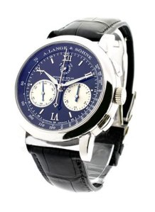 Replica A. Lange & Sohne Lange Double Split  White Gold Automatic Round Watches ref. 404.035 For Men