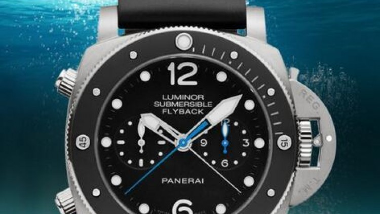 Cheap replica panerai luminor 1950 series chronograph 47mm watch pam 615