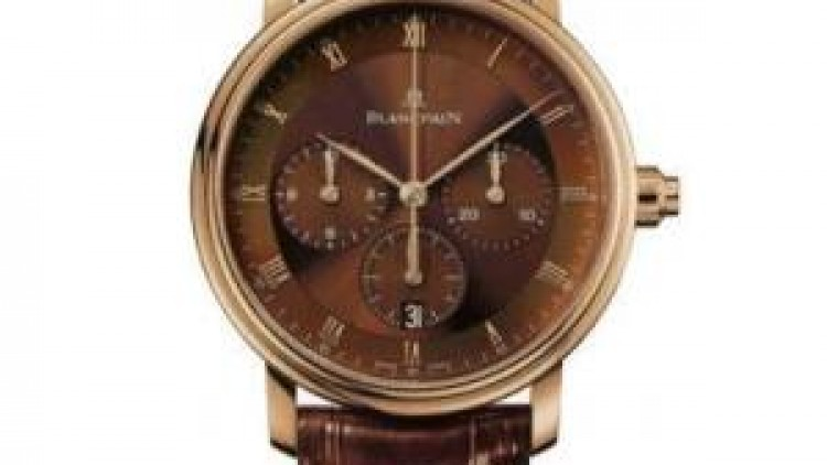 You Will like The Blancpain Villeret Brown Dial Rose Gold Mens Replica Watches ref.6185-3646-55