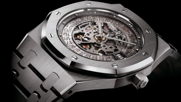 Best audemars piguet 40th anniversary royal oak openworked extra-thin tourbillon replica watch