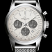 Ocean Classic Steel Bracelet White Dial Breitling Transocean Chronograph Replica Watch