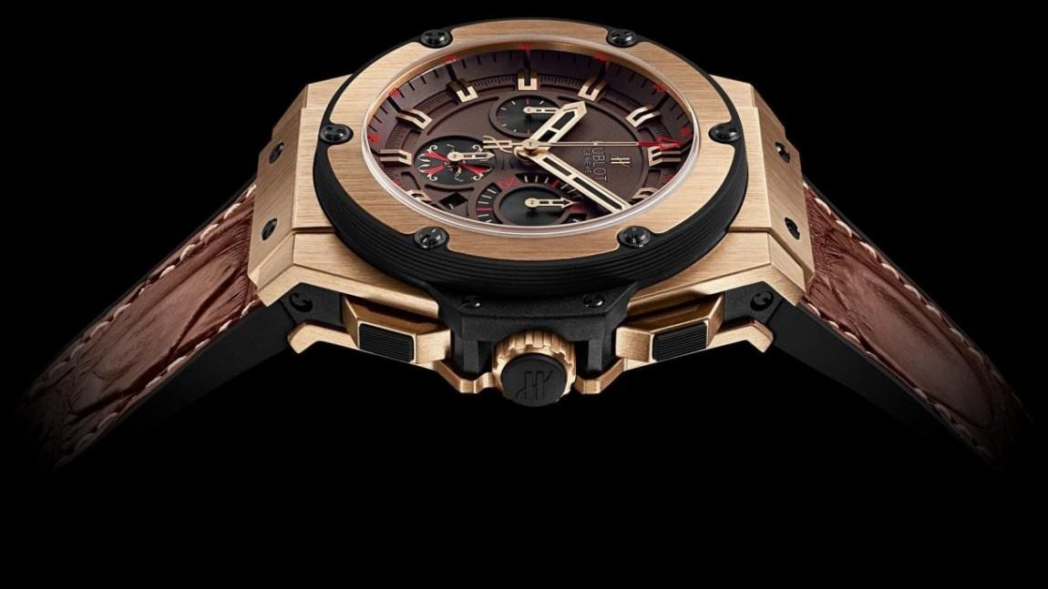 Best hublot king power arturo fuente king gold limited edition replica watch
