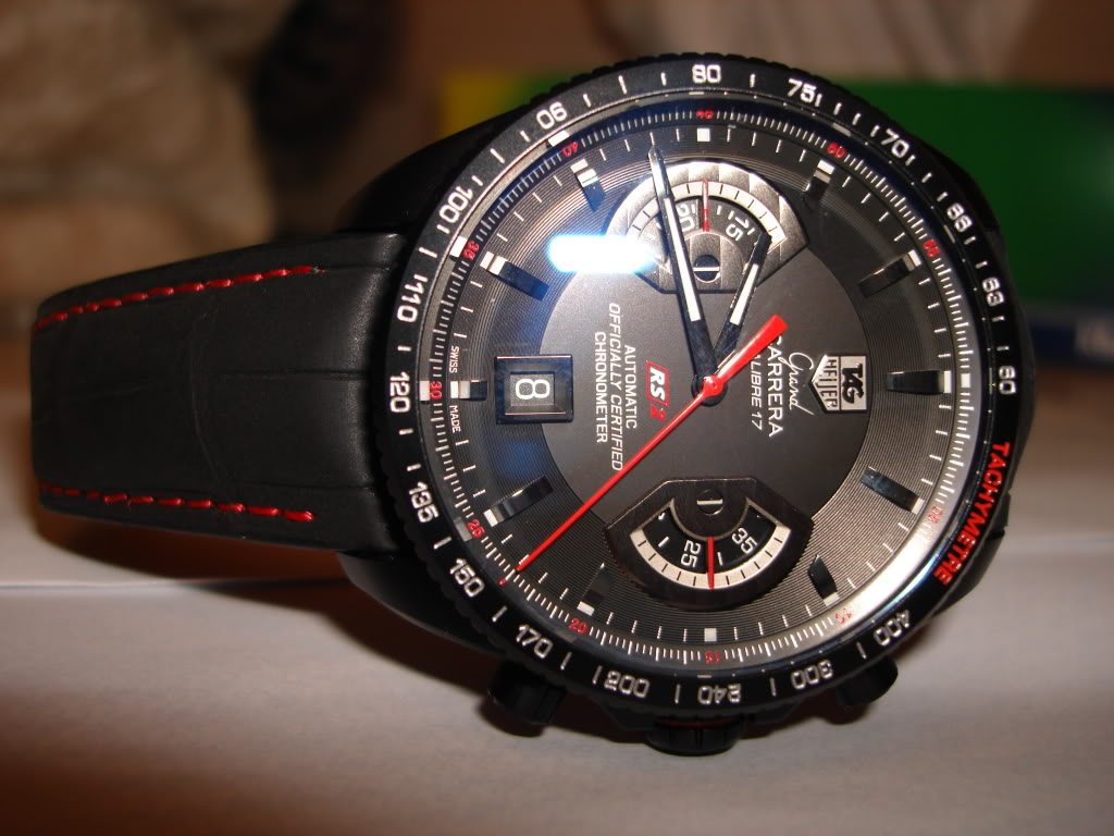 swiss tag heuer grand carrera calibre 17 rs chronograph watch replica online