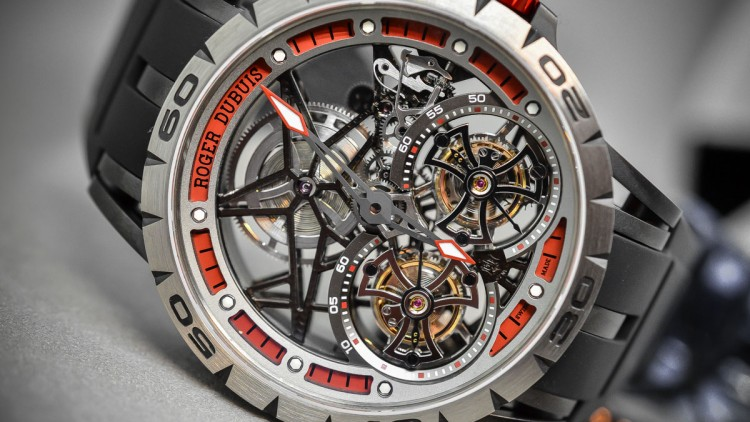 Skeleton Dial Roger Dubuis Excalibur Spider Americas Edition Replica Watch