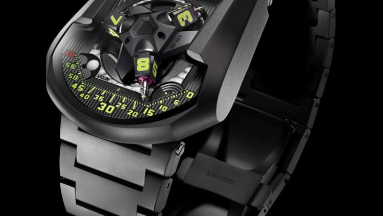 Steel Bracelet Urwerk UR-202S Watch Replica Online Sale