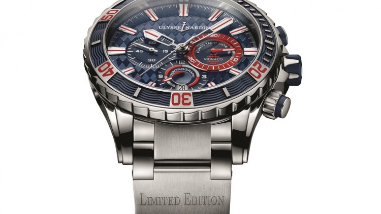 Best Ulysse Nardin Diver Chronograph Monaco Replica Watch