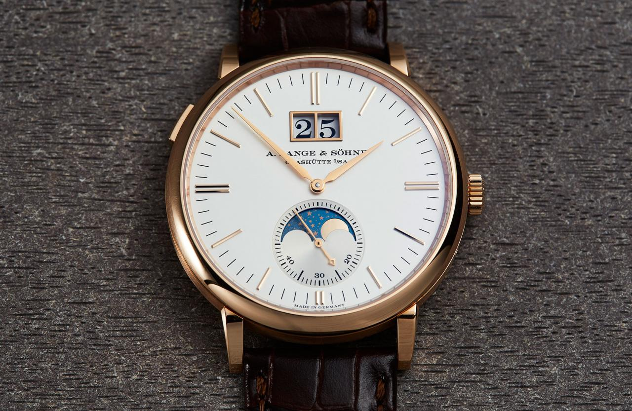A. Lange & Söhne Saxonia Moonphase