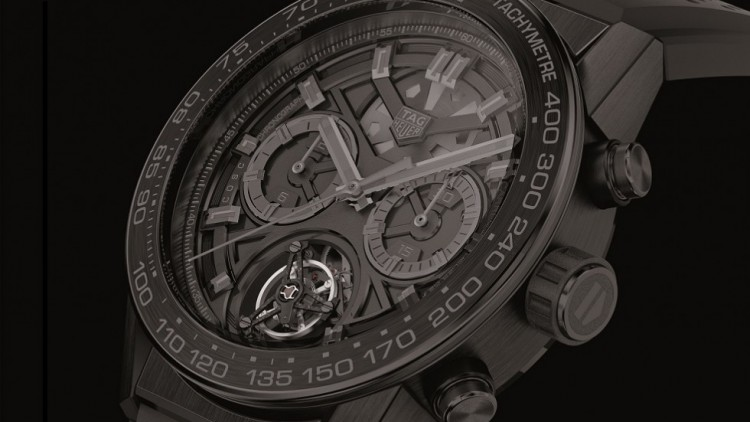 Best TAG Heuer Carrera Heuer-02T Black Phantom Replica Watch