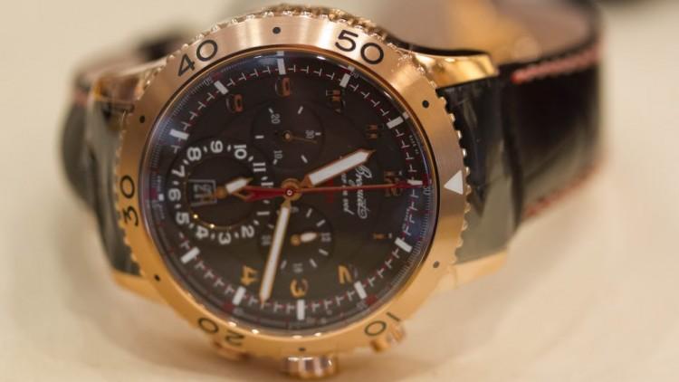 Rose Gold Breguet Type XXII Cheap Replica Watch