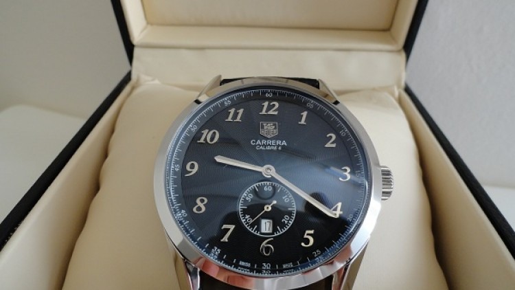 Black Dial Tag Heuer Carrera Caliber 6 Replica Watch