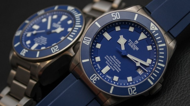 Blue Dial Tudor Pelagos Titanium Replica Watch