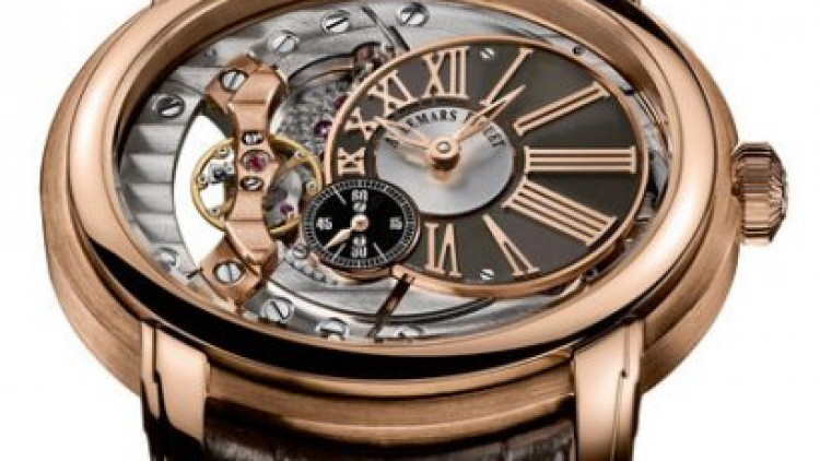 Pink Gold Audemars Piguet Millenary 4101 Replica Watch