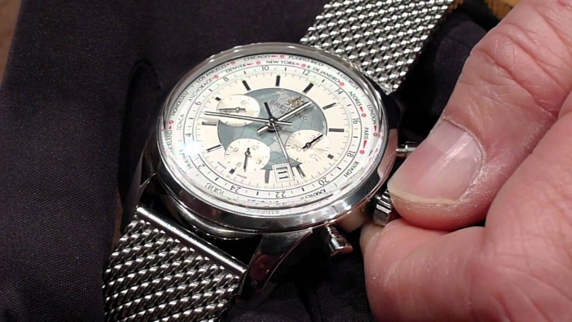 Top Quality Breitling Transocean Unitime Replica Watch