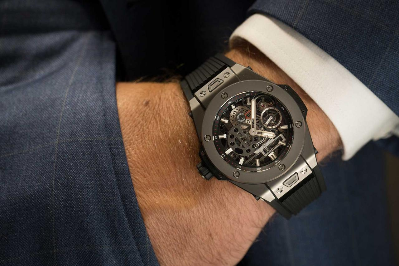 hublot big bang all black