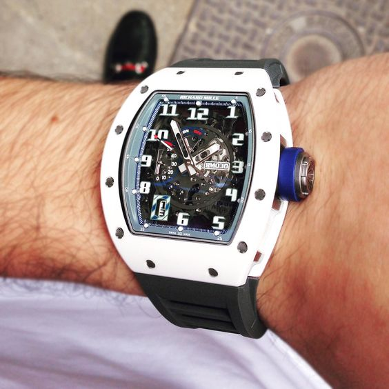 Richard Mille RM030 Polo Club De Saint-Tropez Replica Watch AO TI-ATZ