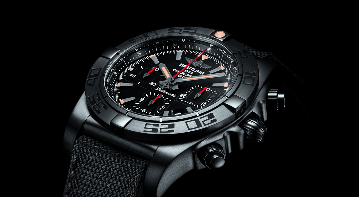 Best Quality Breitling Chronomat 44 Blacksteel Replica Watches