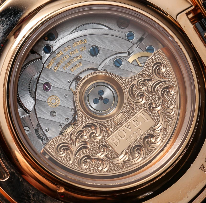 Bovet Amadeo Fleurier 43 Meteorite Watch Review Wrist Time Reviews
